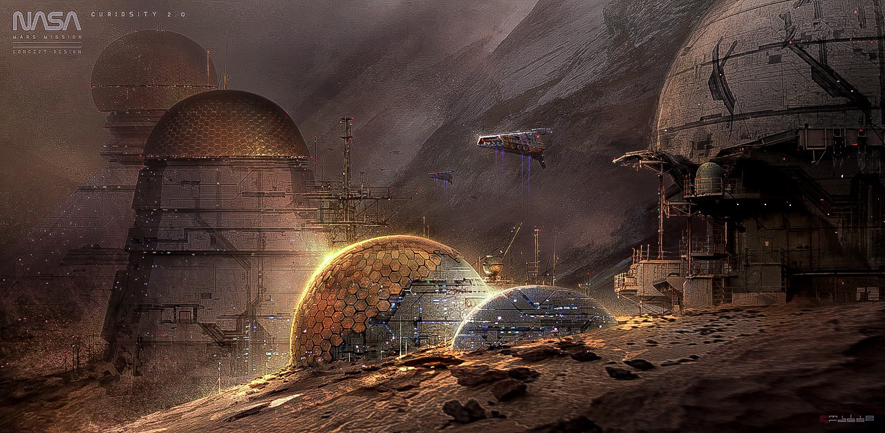 Curiosity 2.0 - Mars Human's Space Station
