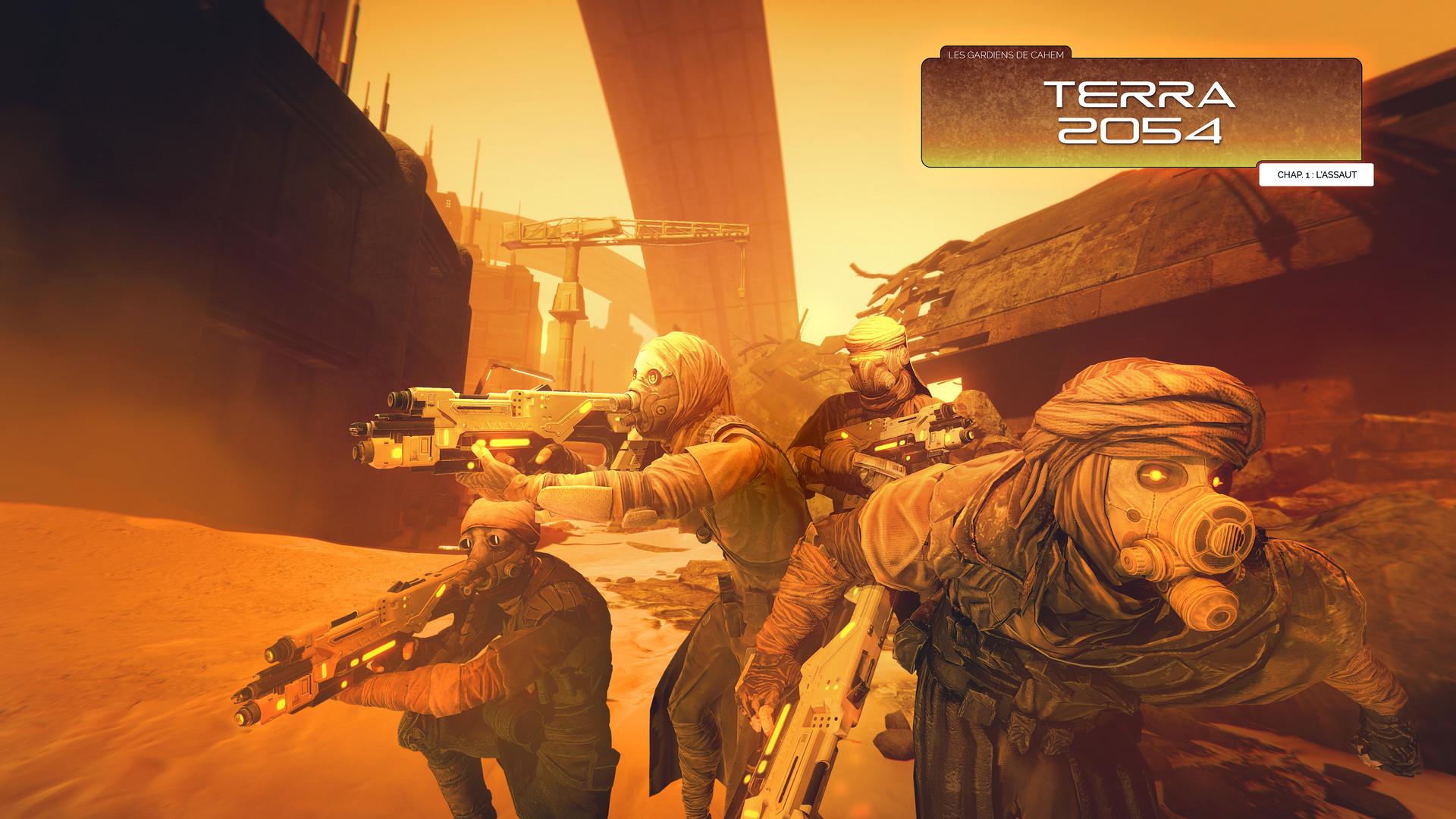 Cahem FPS - Experience VR - Terra 2054