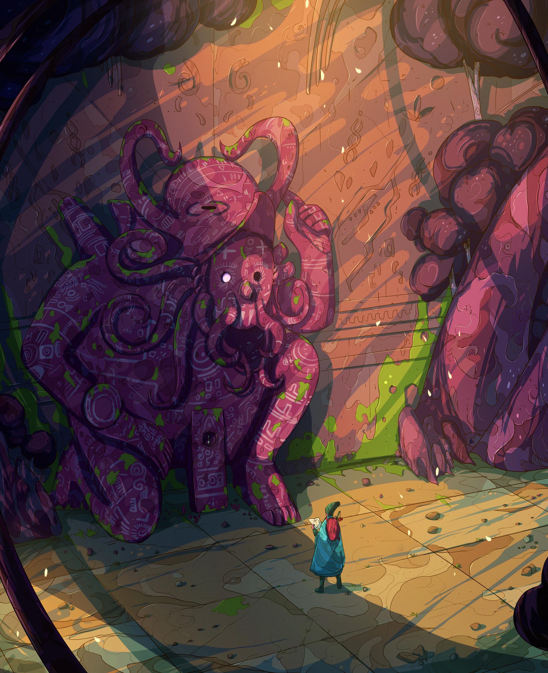 Christian benavides voyager octopus ruins f ilu 1