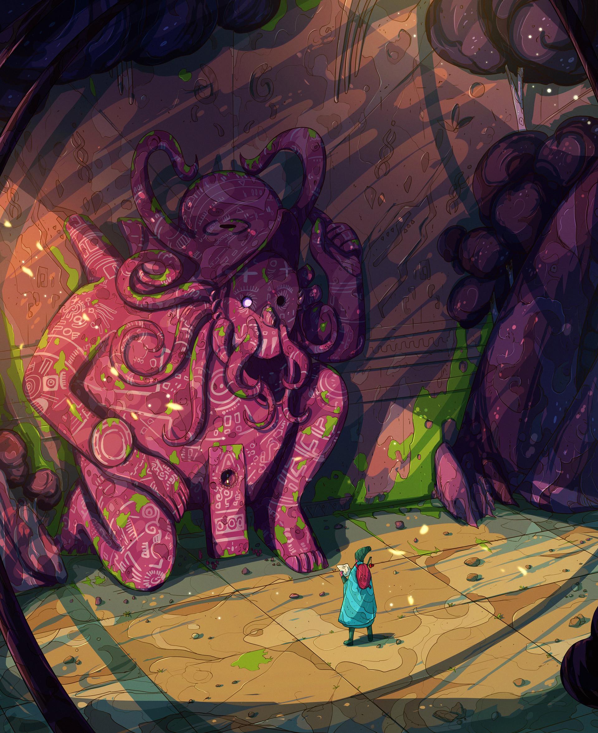 Christian benavides voyager octopus ruins f ilu 2