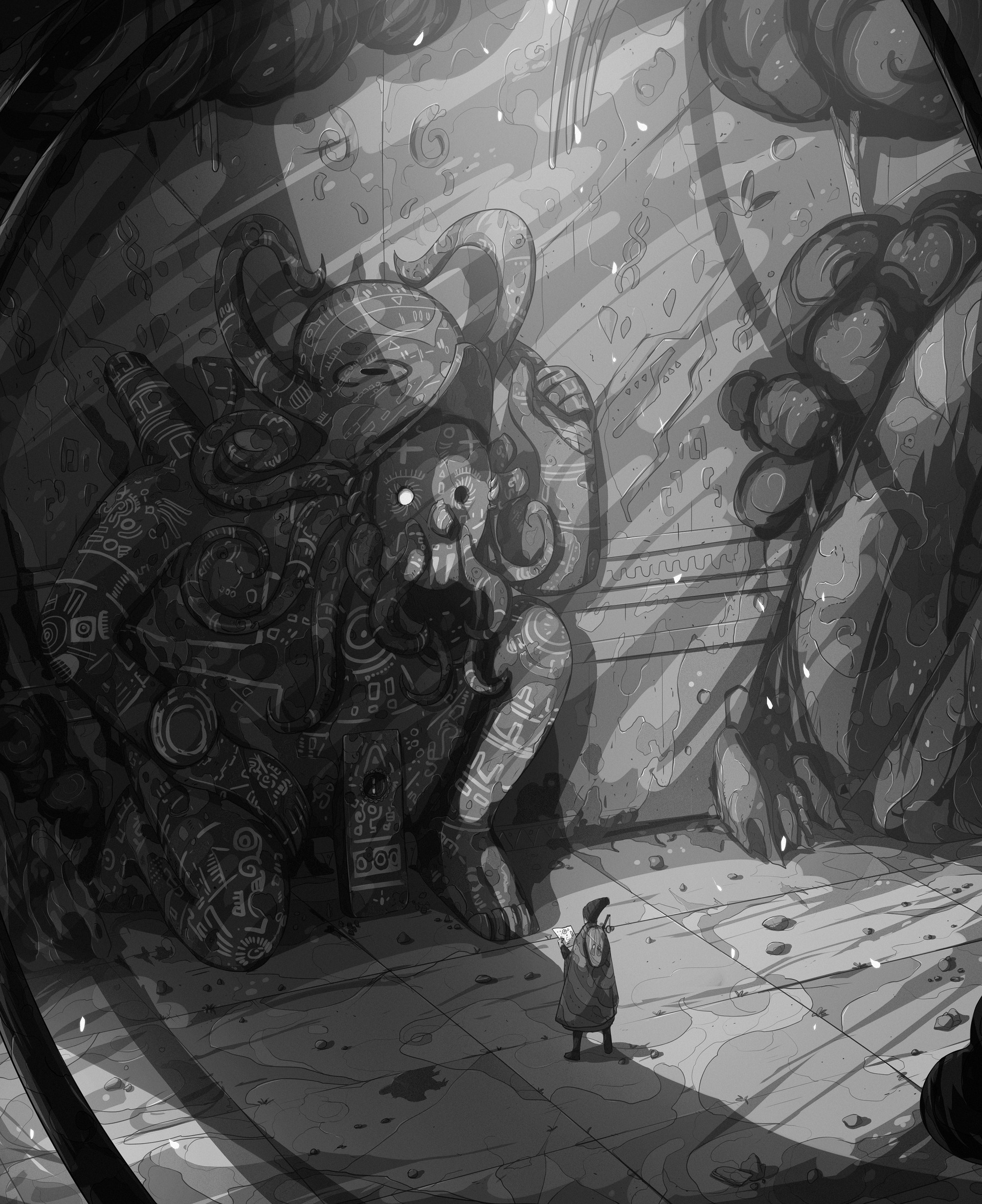 Christian benavides voyager octopus ruins f ilu 1 g
