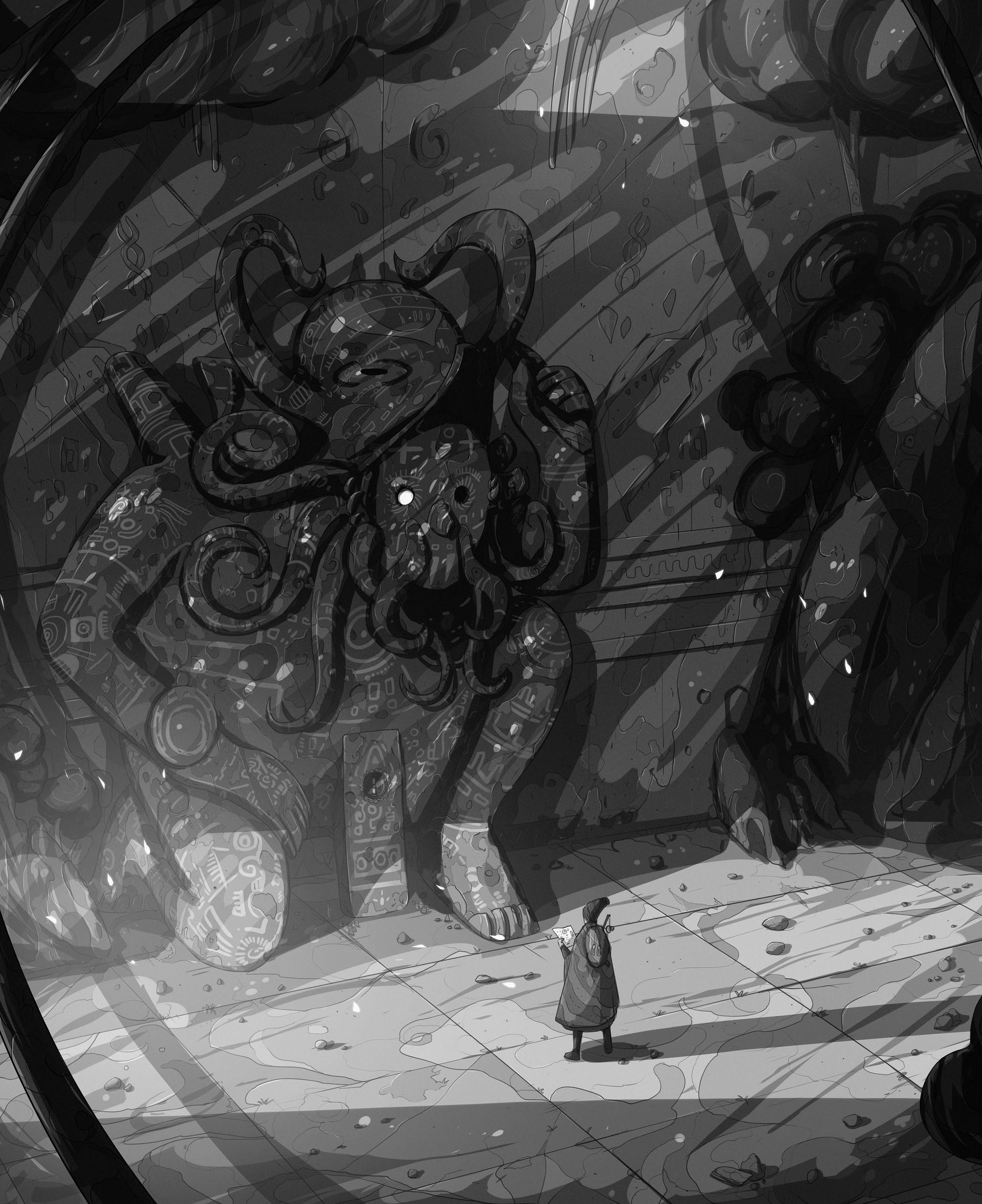 Christian benavides voyager octopus ruins f ilu 3 g