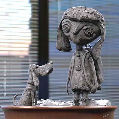Surajit sen friends concept sculpt surajit sen