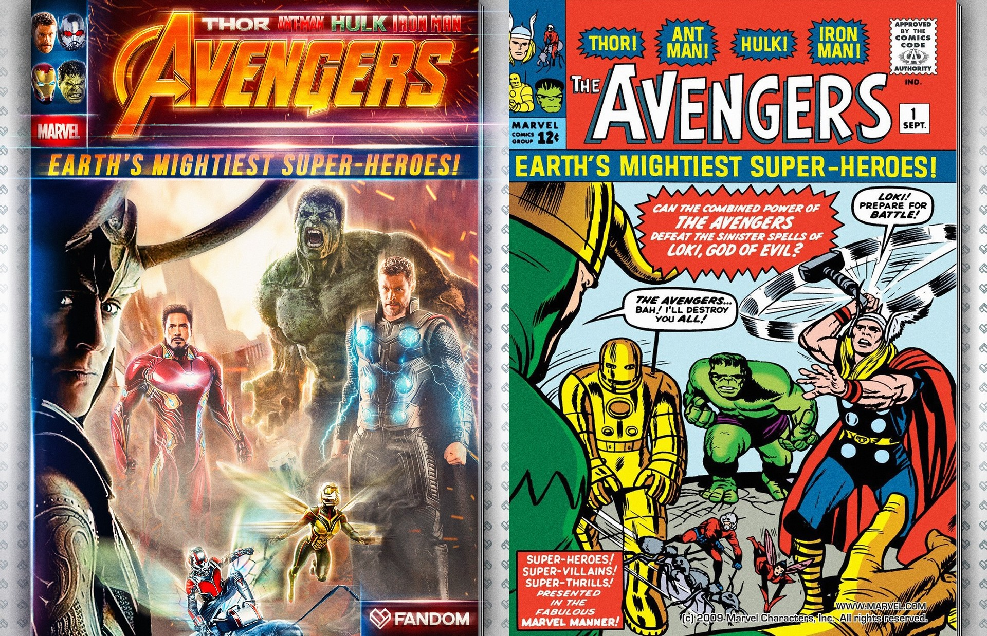 Nick tam compare avengers1