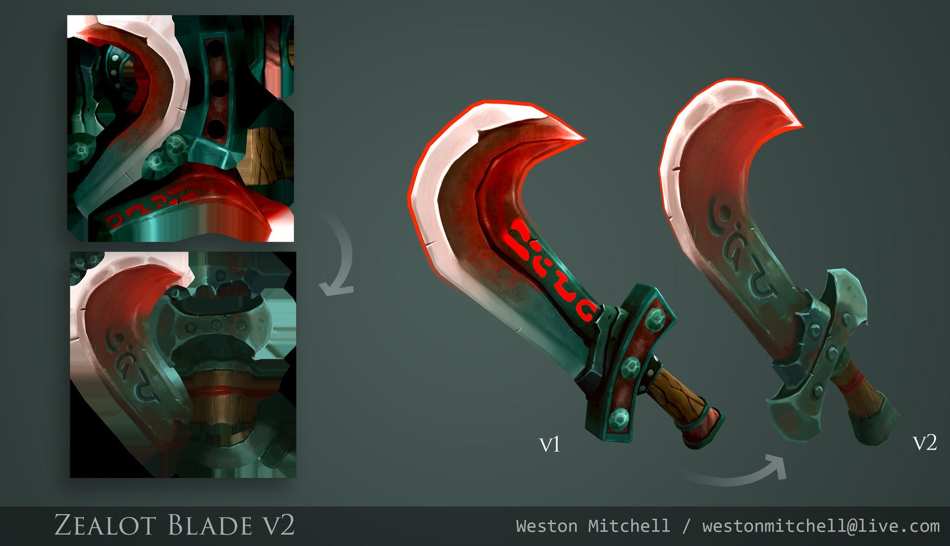 Weston mitchell zealot blade f jver 05