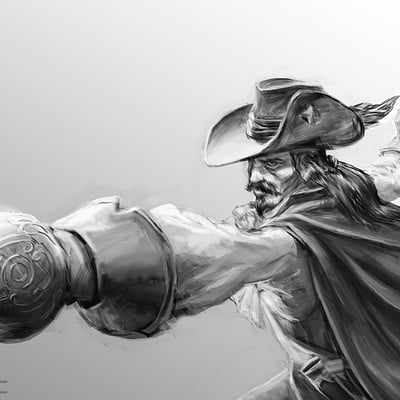 Matej kovacic musketeer by matej kovacic