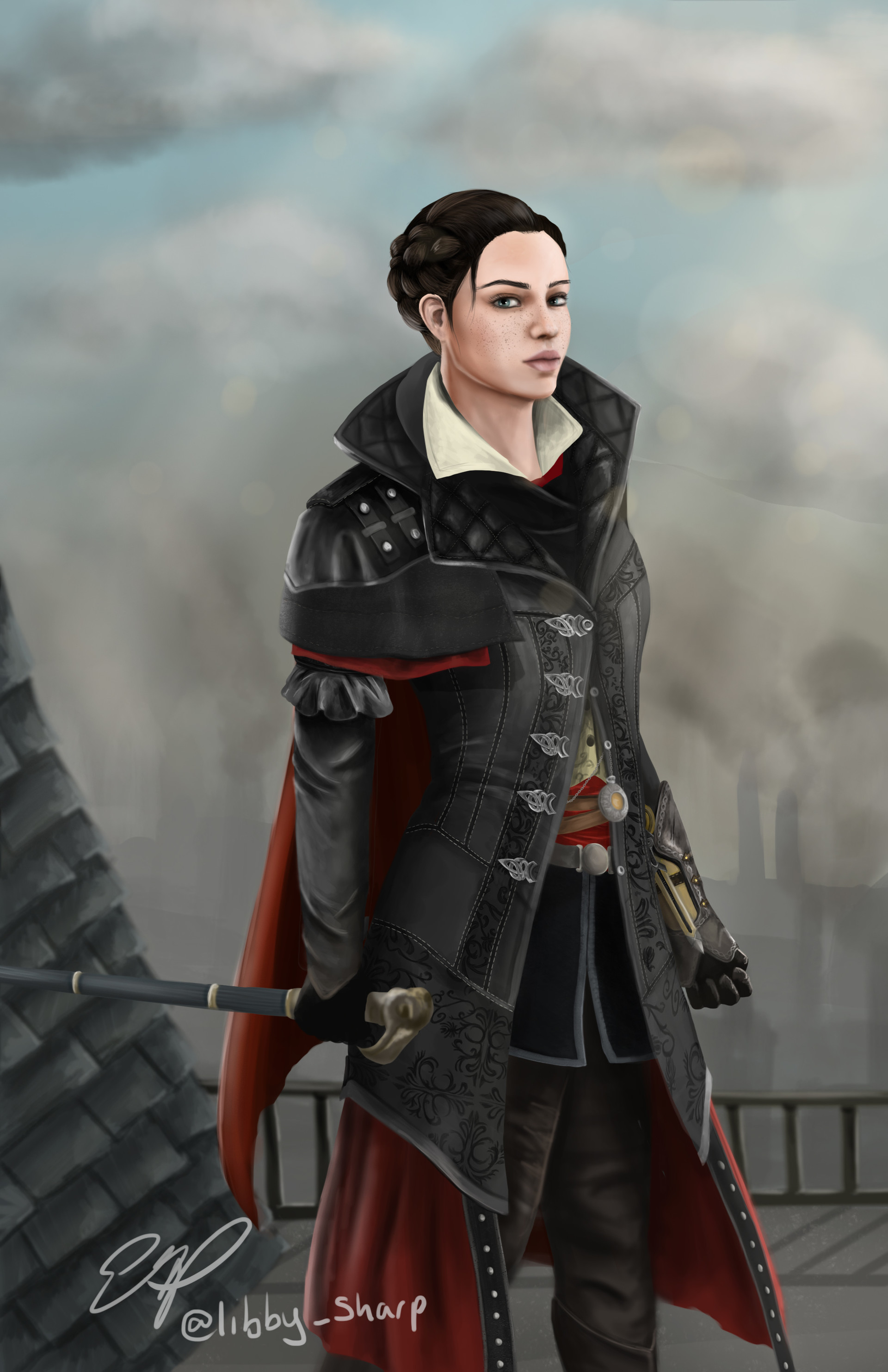 Elizabeth Sharp Evie Frye London is waiting to be liberated. elizabeth sharp evie frye