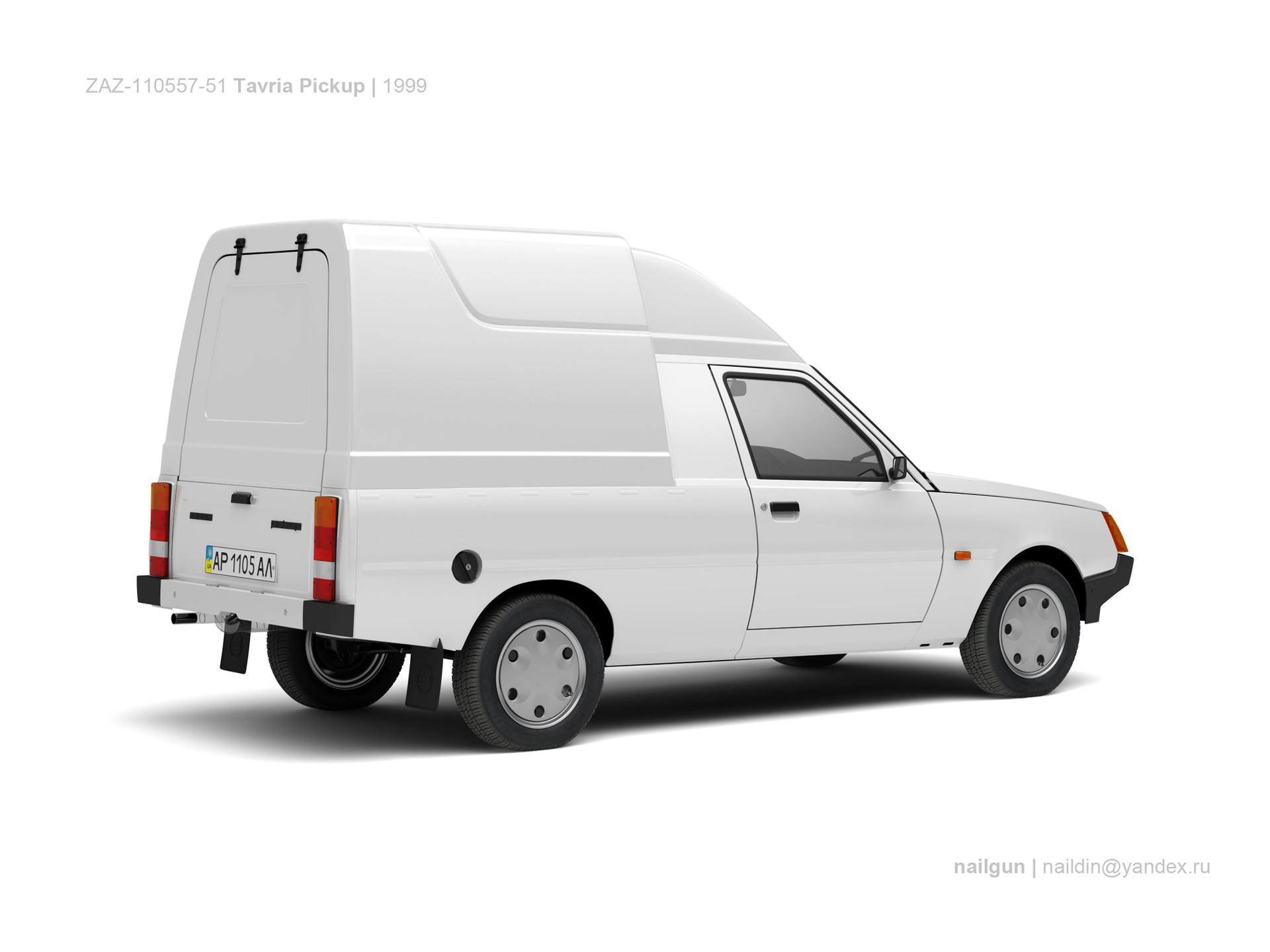 Nail khusnutdinov ukraine zaz 110557 51 tavria pickup 1