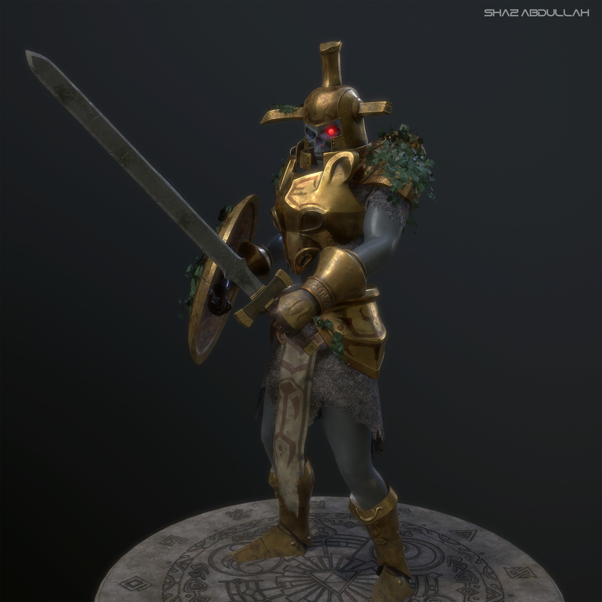 ArtStation - Hero's Shade (Zelda - Twilight Princess), Shaz Abdullah