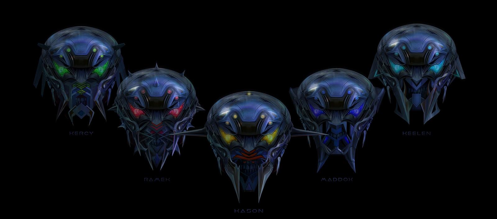 REAVER Helmet design