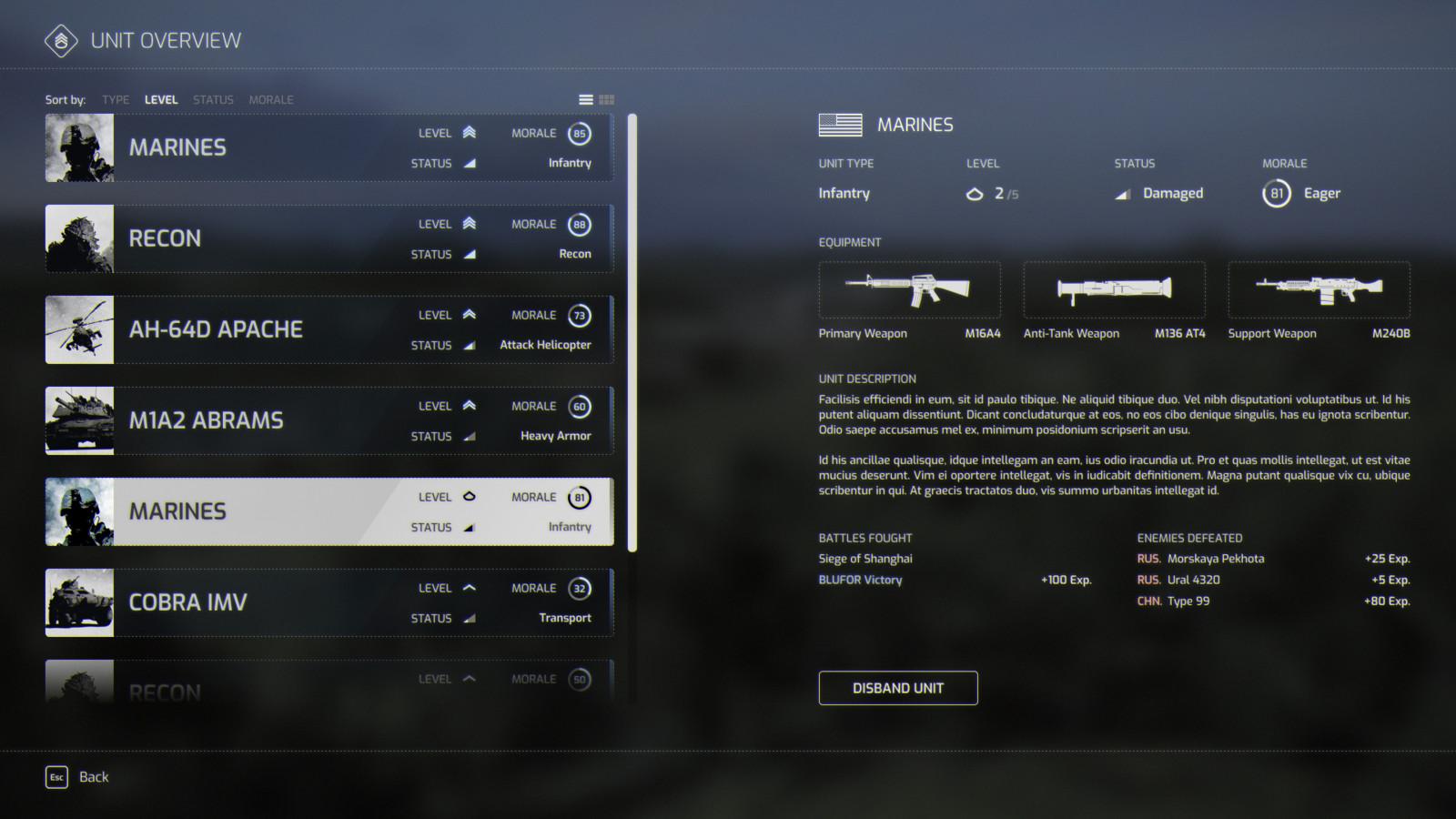 Unit Overview
