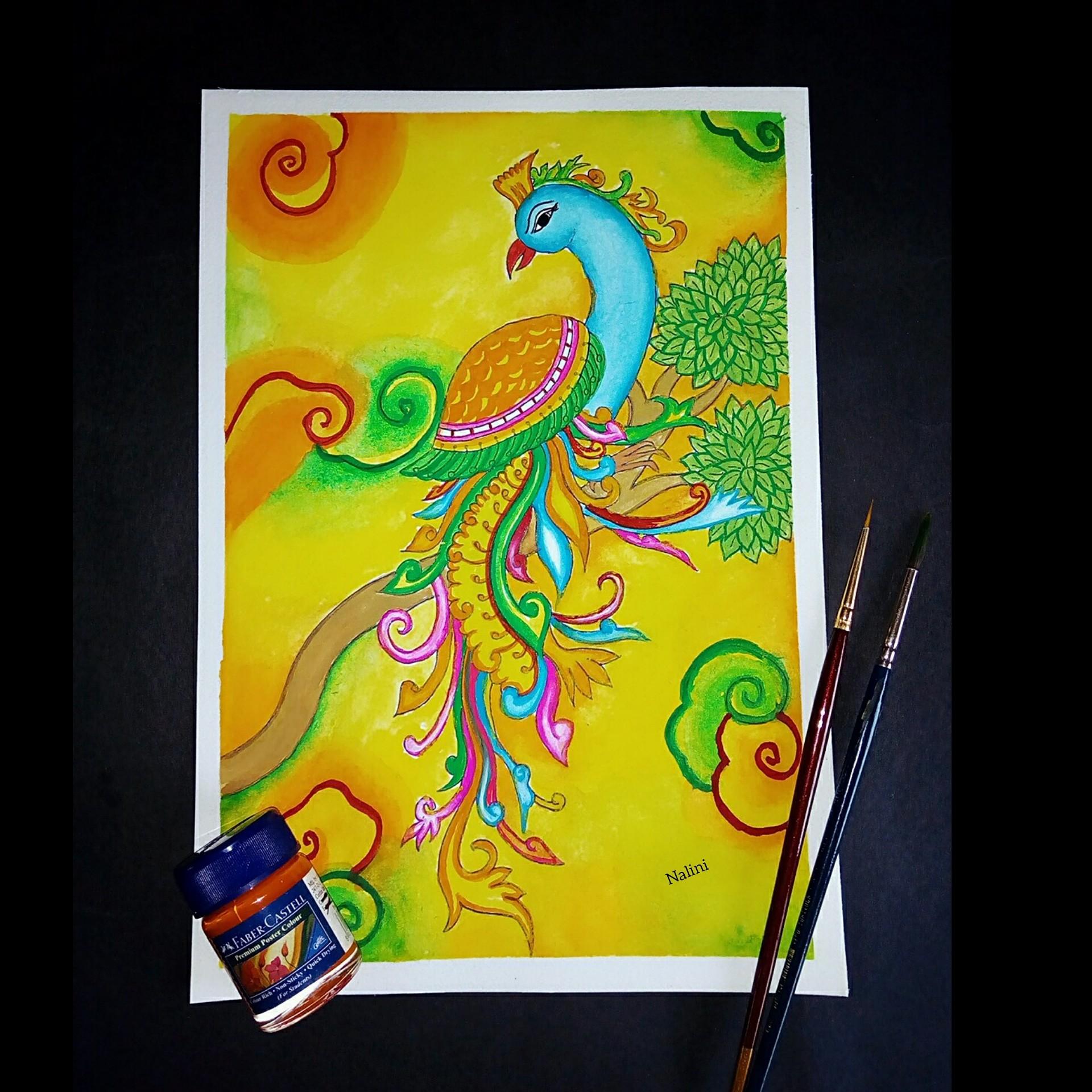 Artstation Mural Painting Nalini Dubey
