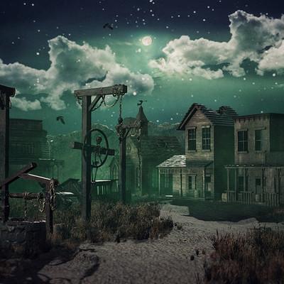 Pietro chiovaro western ghost town