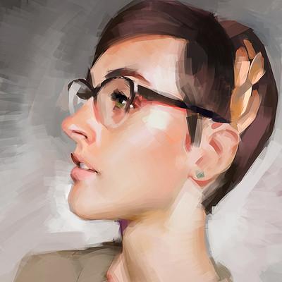 Ibrahem swaid portrait study 20