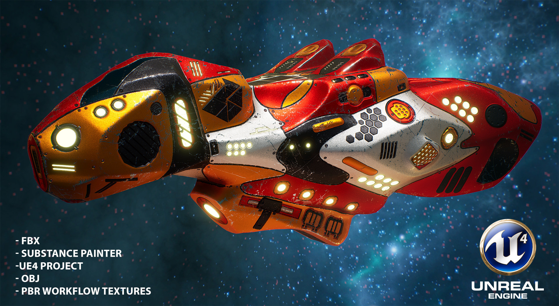 The art of Andrew Krivulya (Charly) - Sci-fi spaceship r2qf8