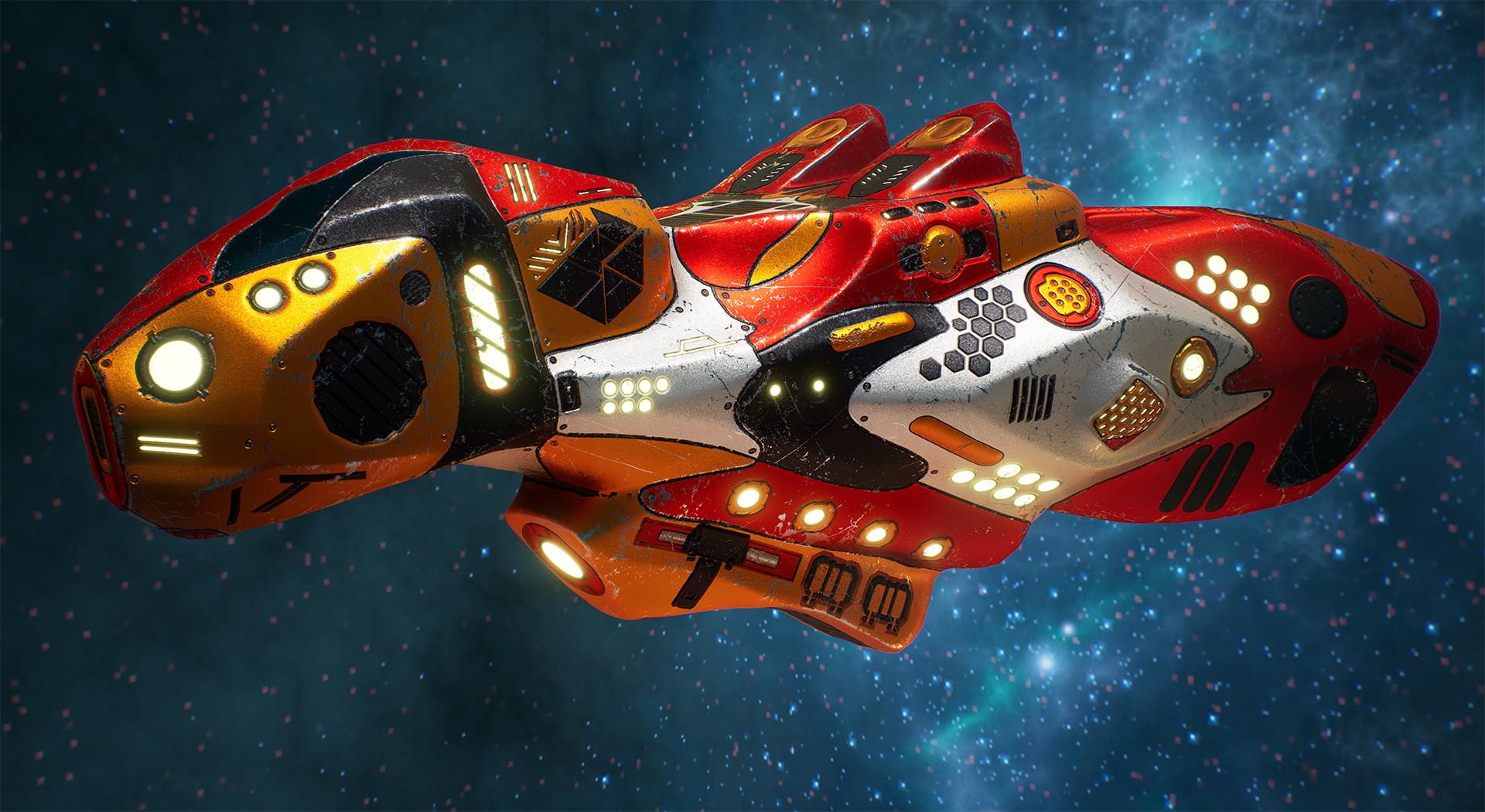 Andrew krivulya spaceship render 12