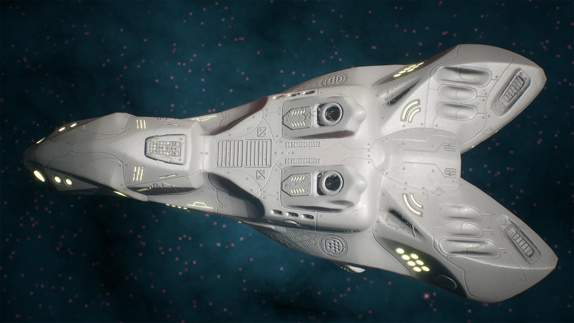 Andrew krivulya spaceship render 01