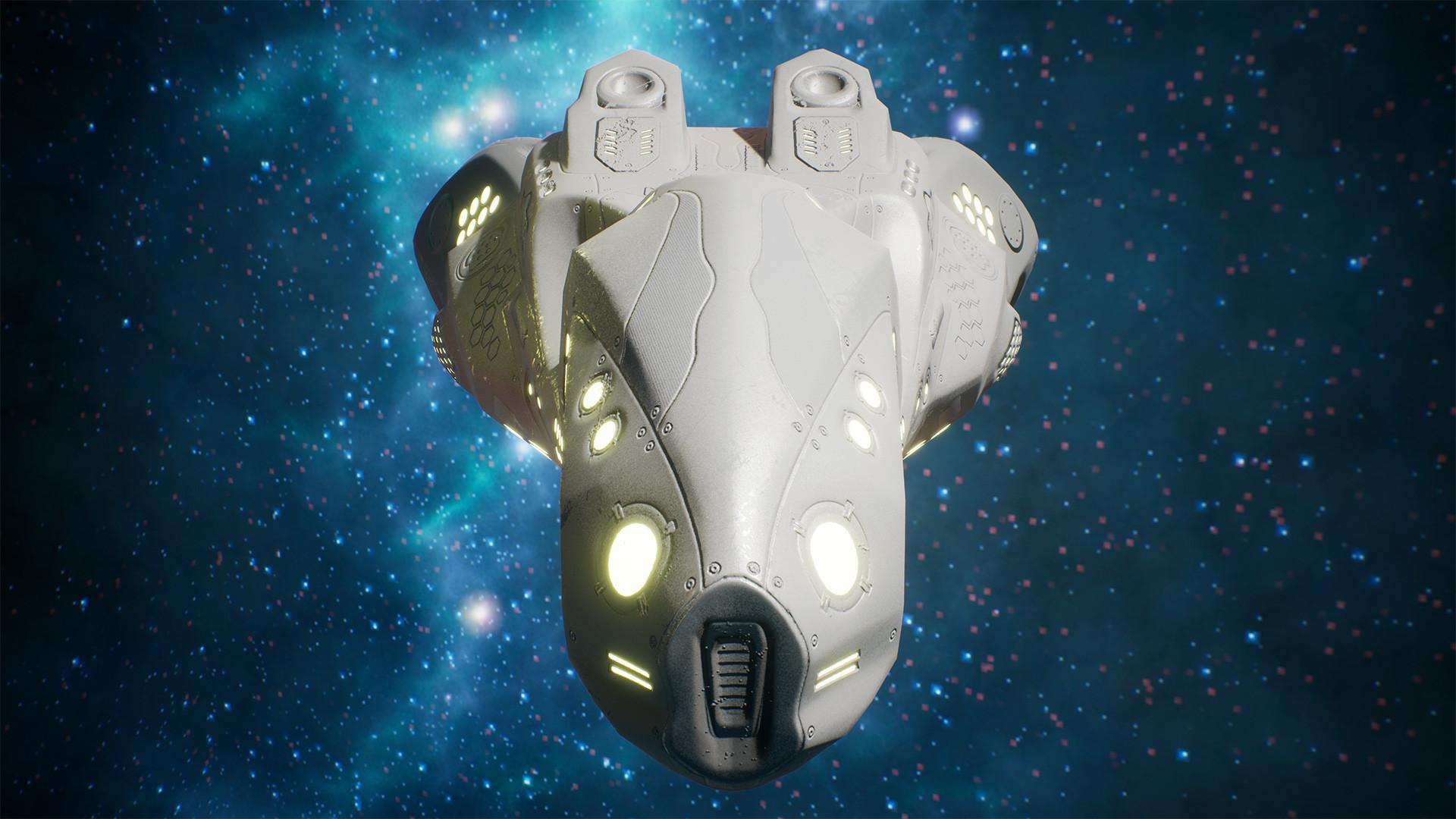 Andrew krivulya spaceship render 02