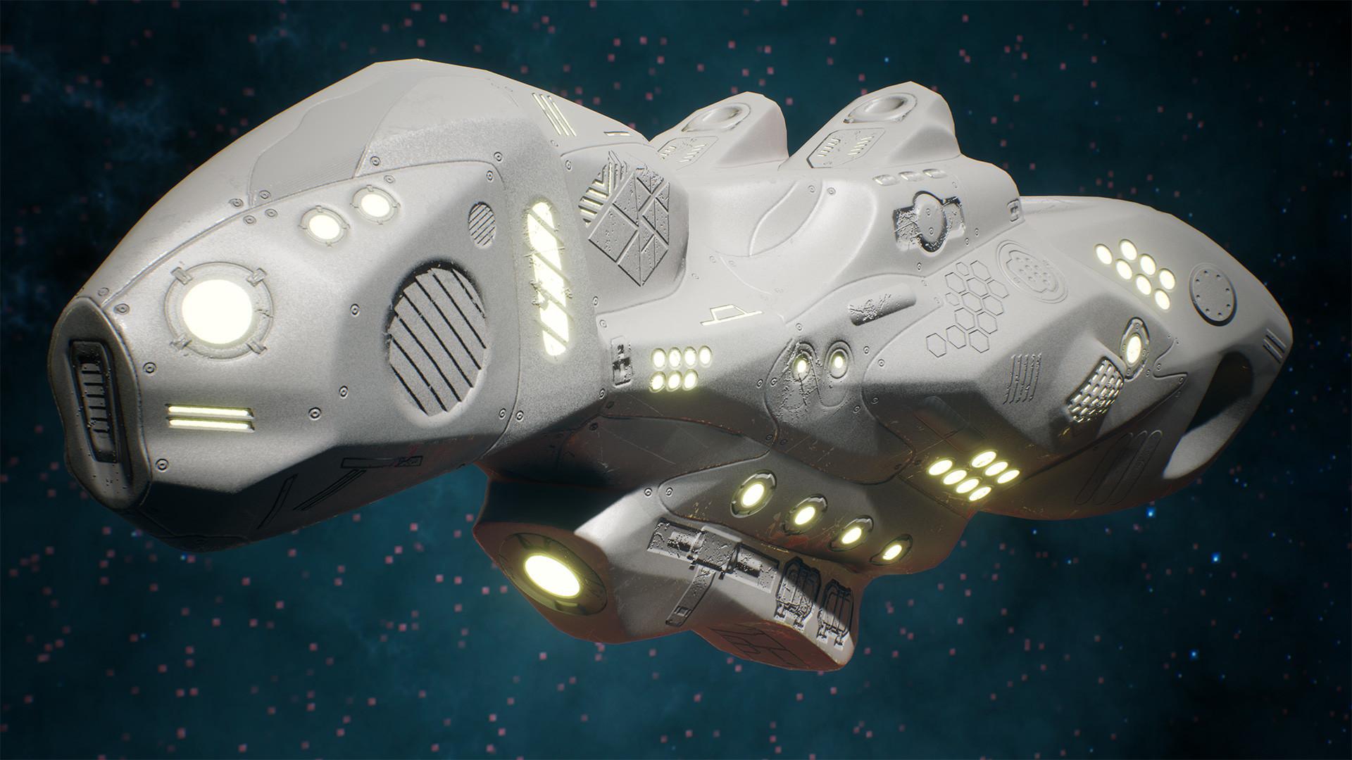 Andrew krivulya spaceship render 04