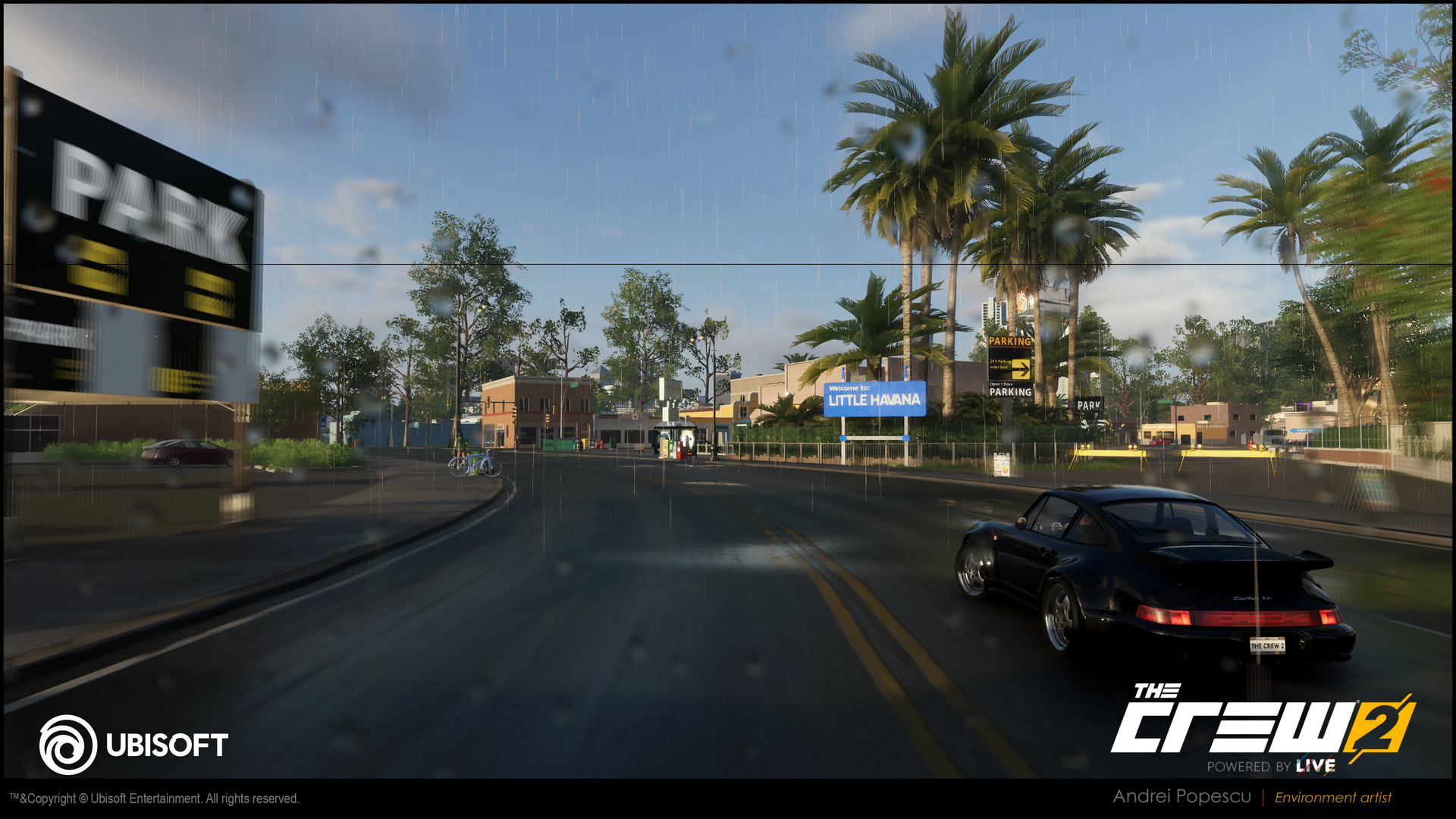 ArtStation - The Crew 2 - Miami Street Racing Playground and Mission