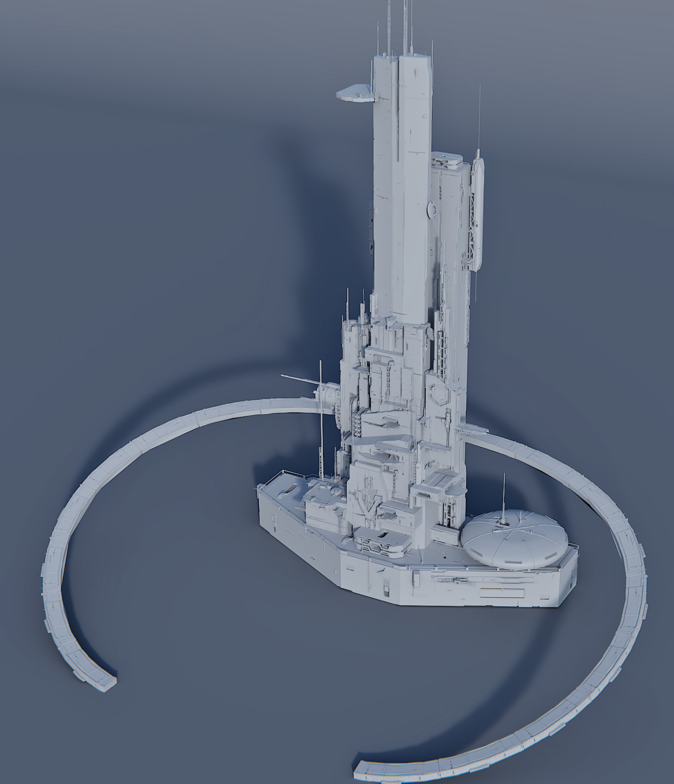 White Castle High Poly