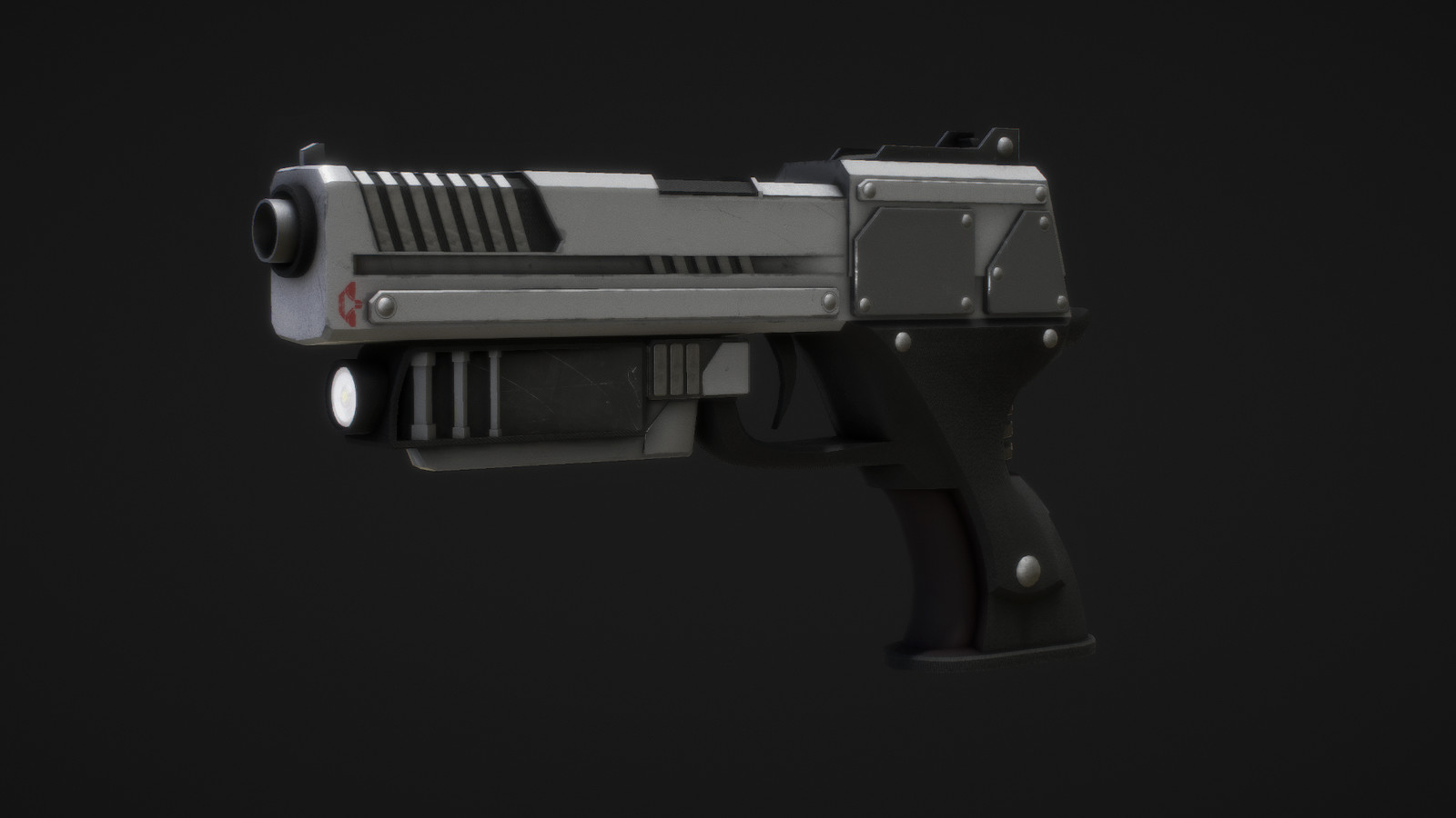Futuristic Hand Gun