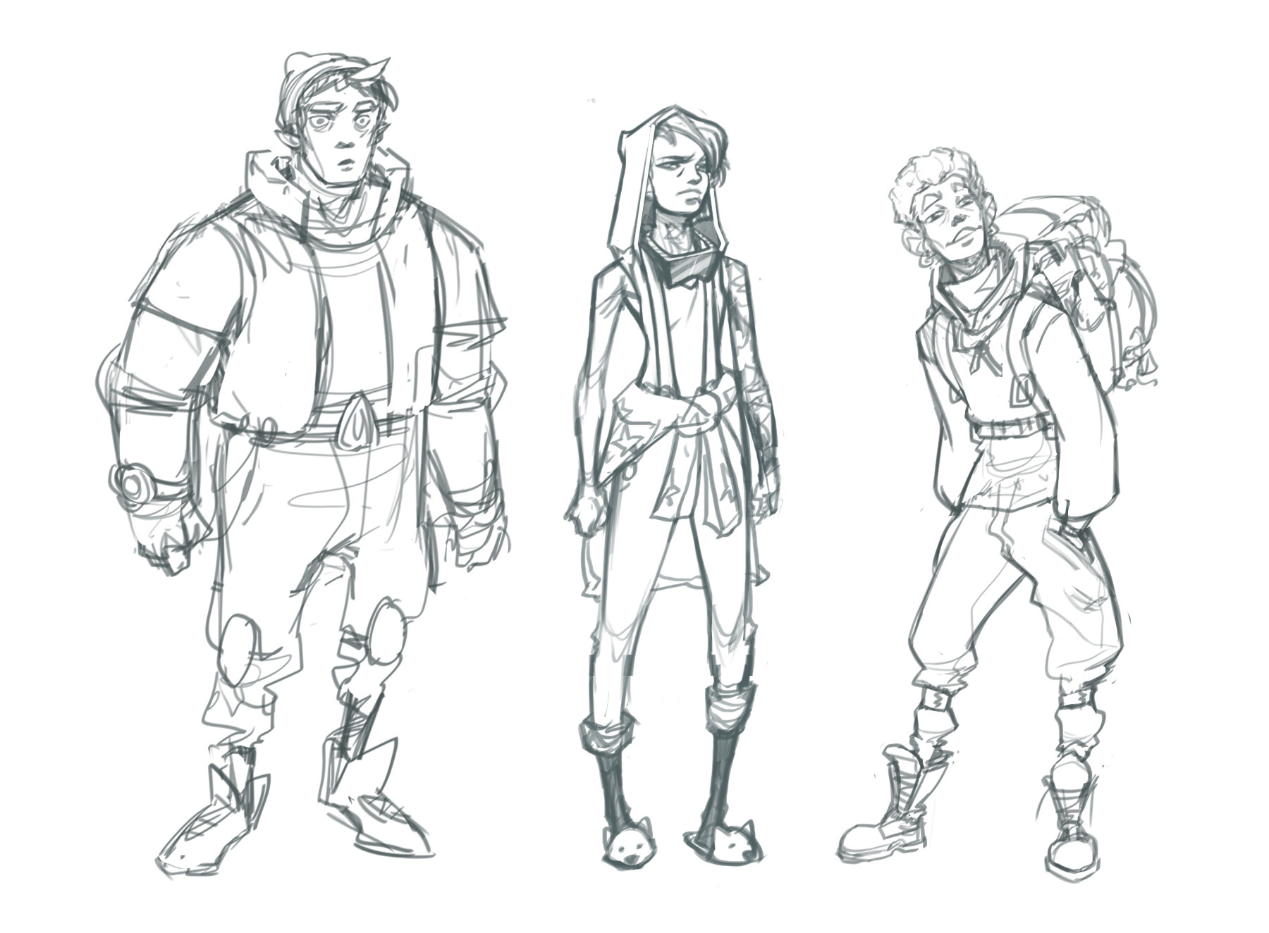 Corey shillingford team concept sketches