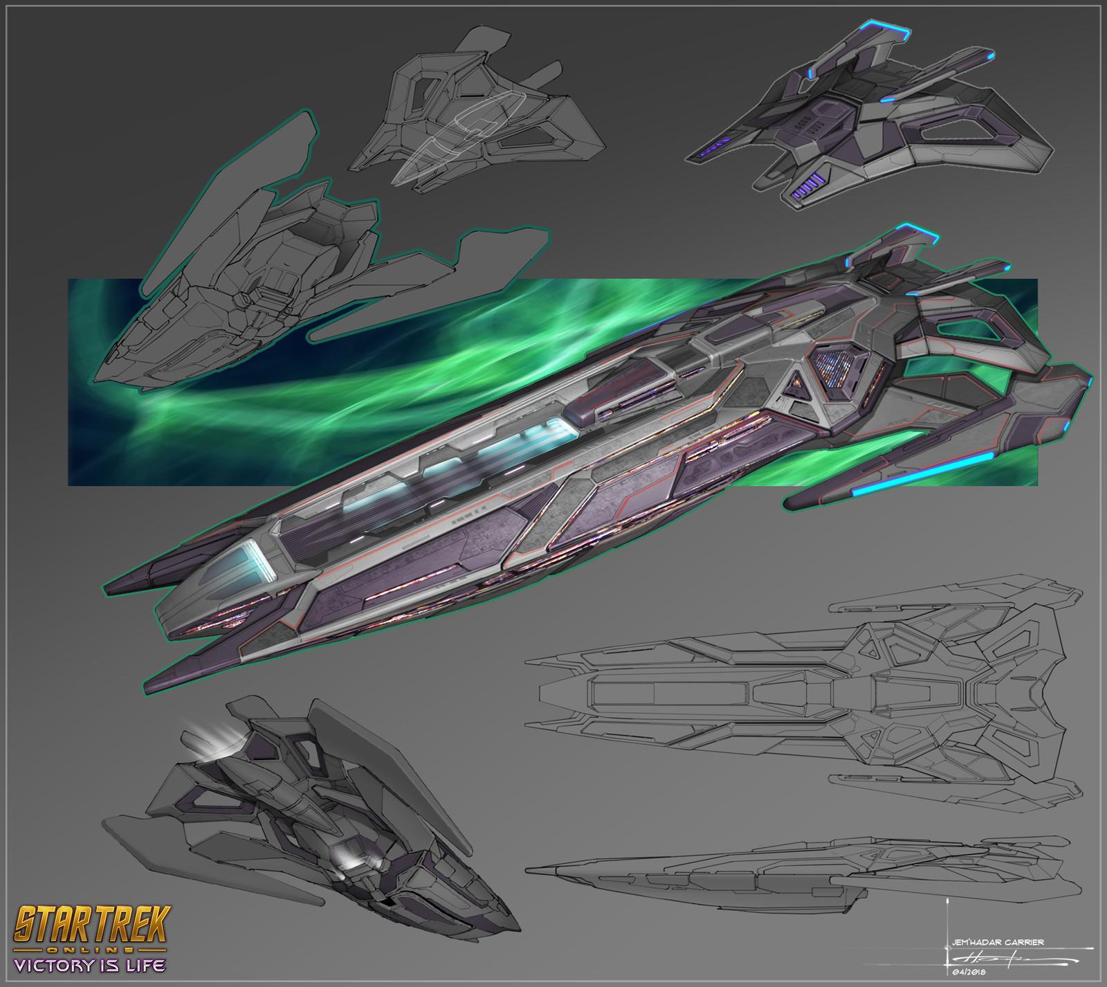 Jem'Hadar Vanguard Carrier