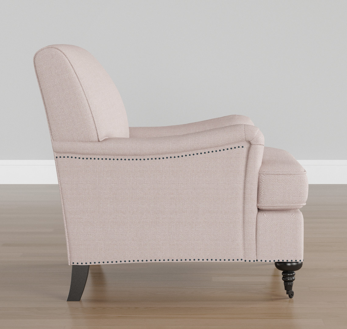 Charmant Purvesh Shah Pink Arm Chair03