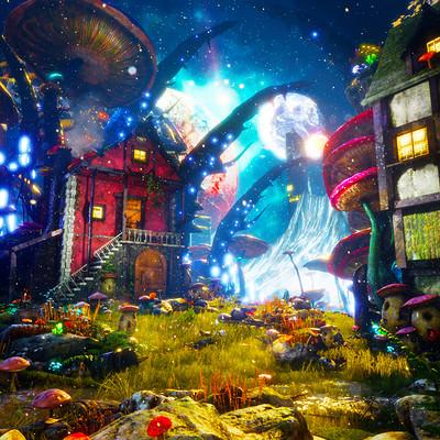 Brian vagie mushroomland 1