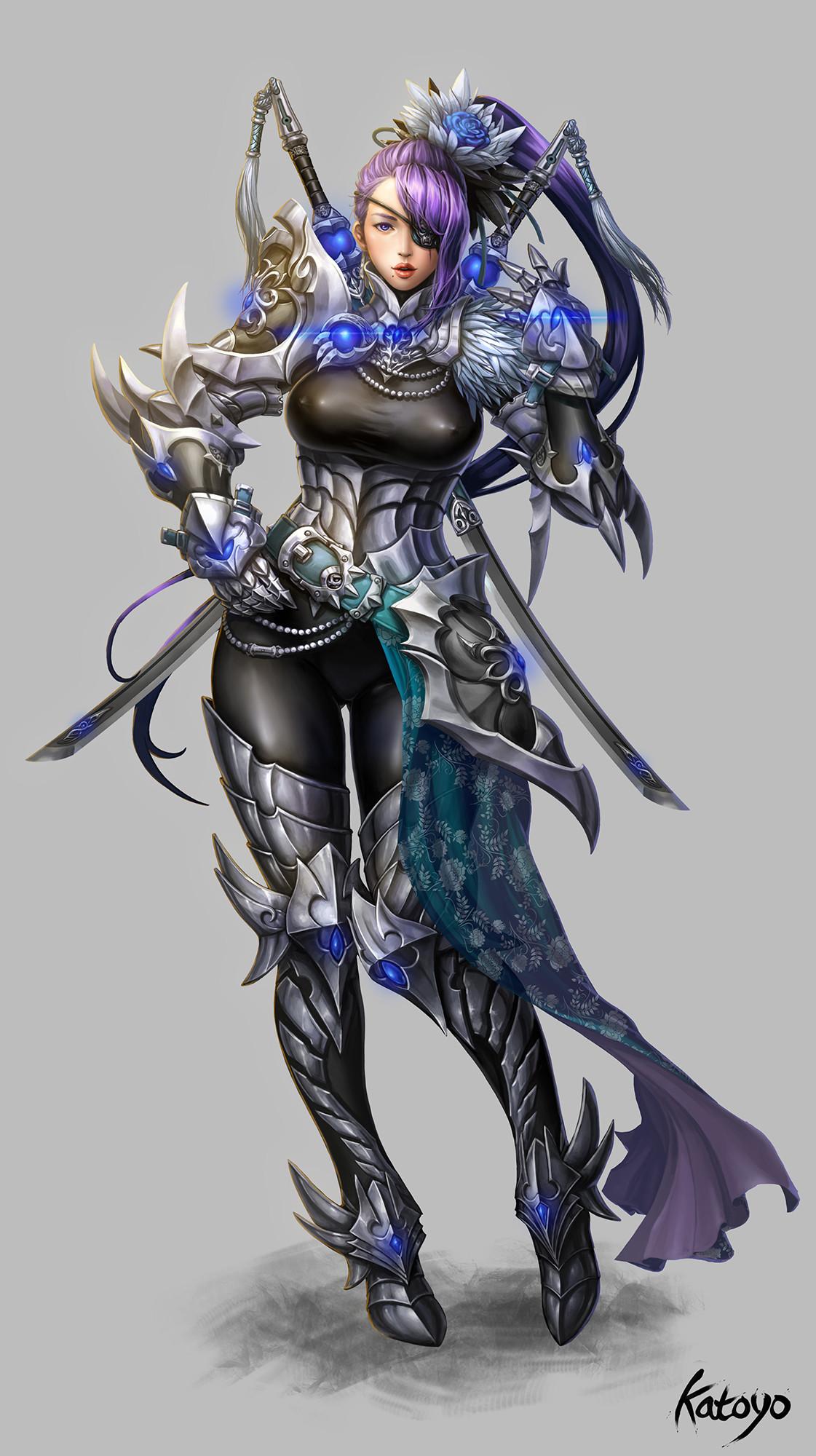 Sanghyun yu blade master katoyo