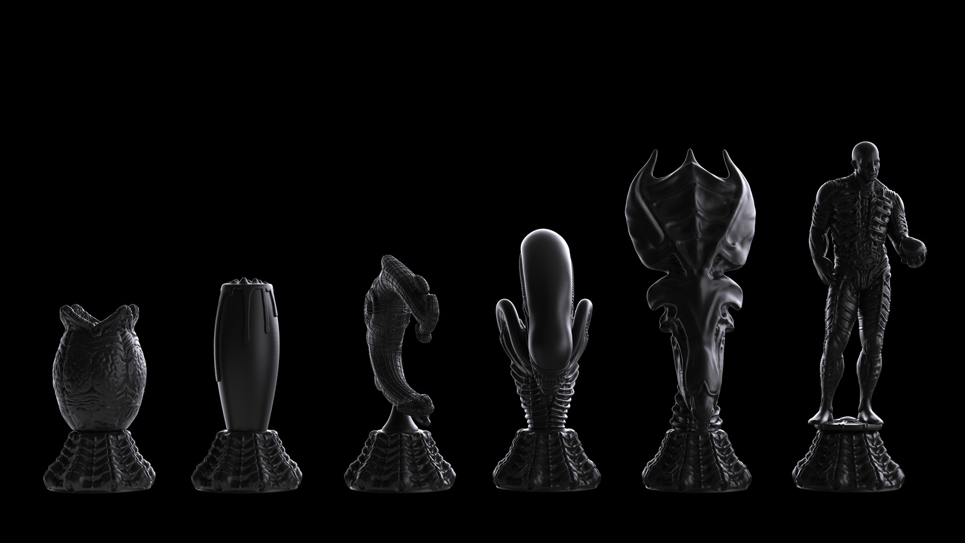 Ken calvert alien chess renders 1054
