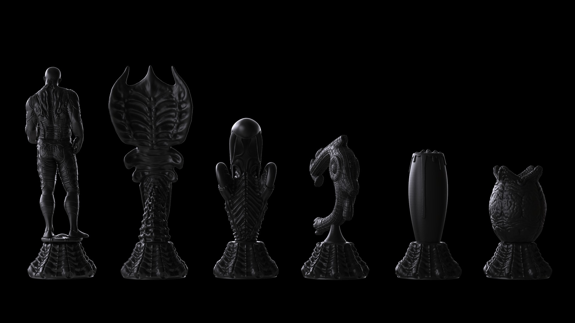 Ken calvert alien chess renders 1055