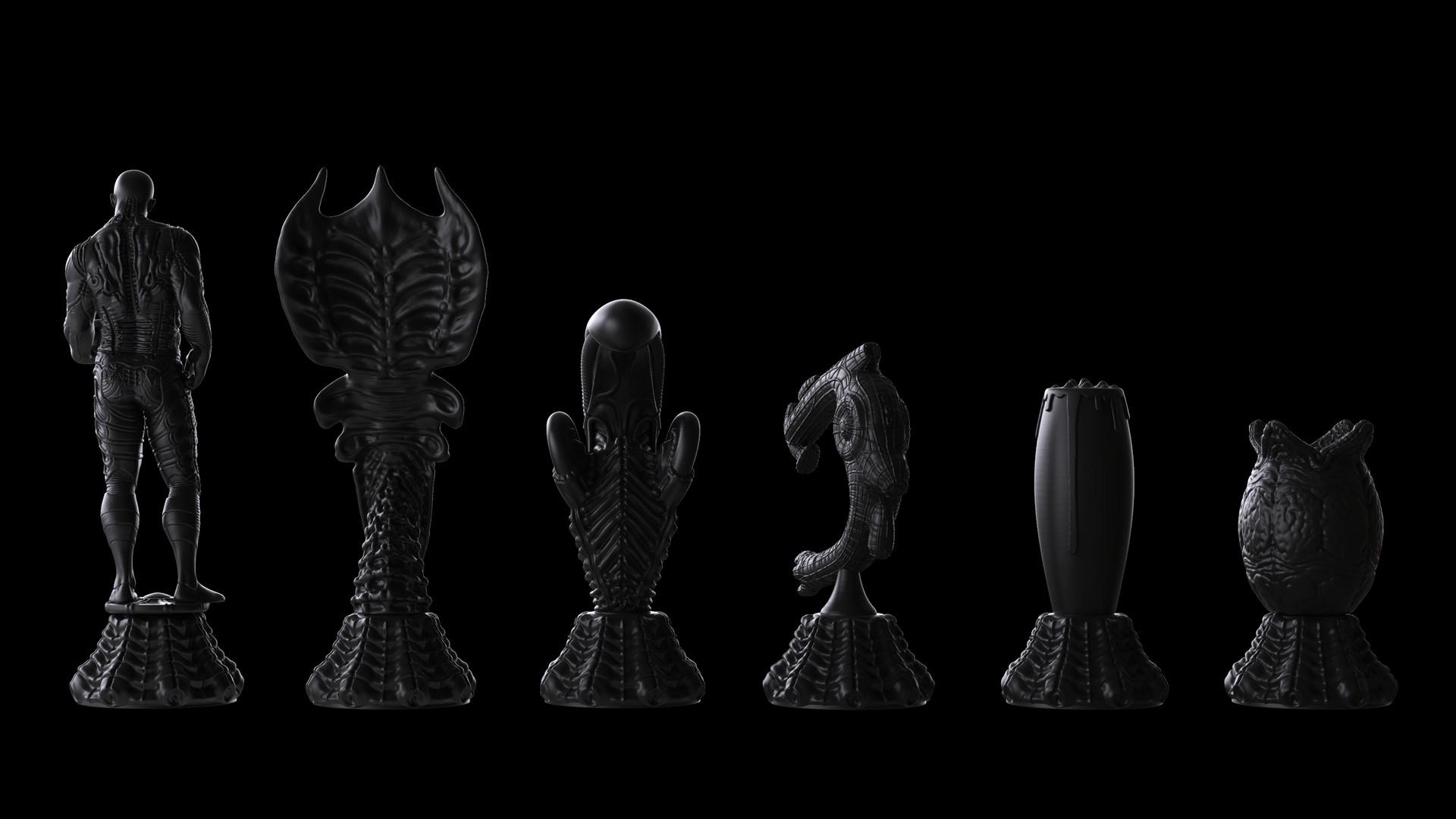 Ken calvert alien chess renders 1055