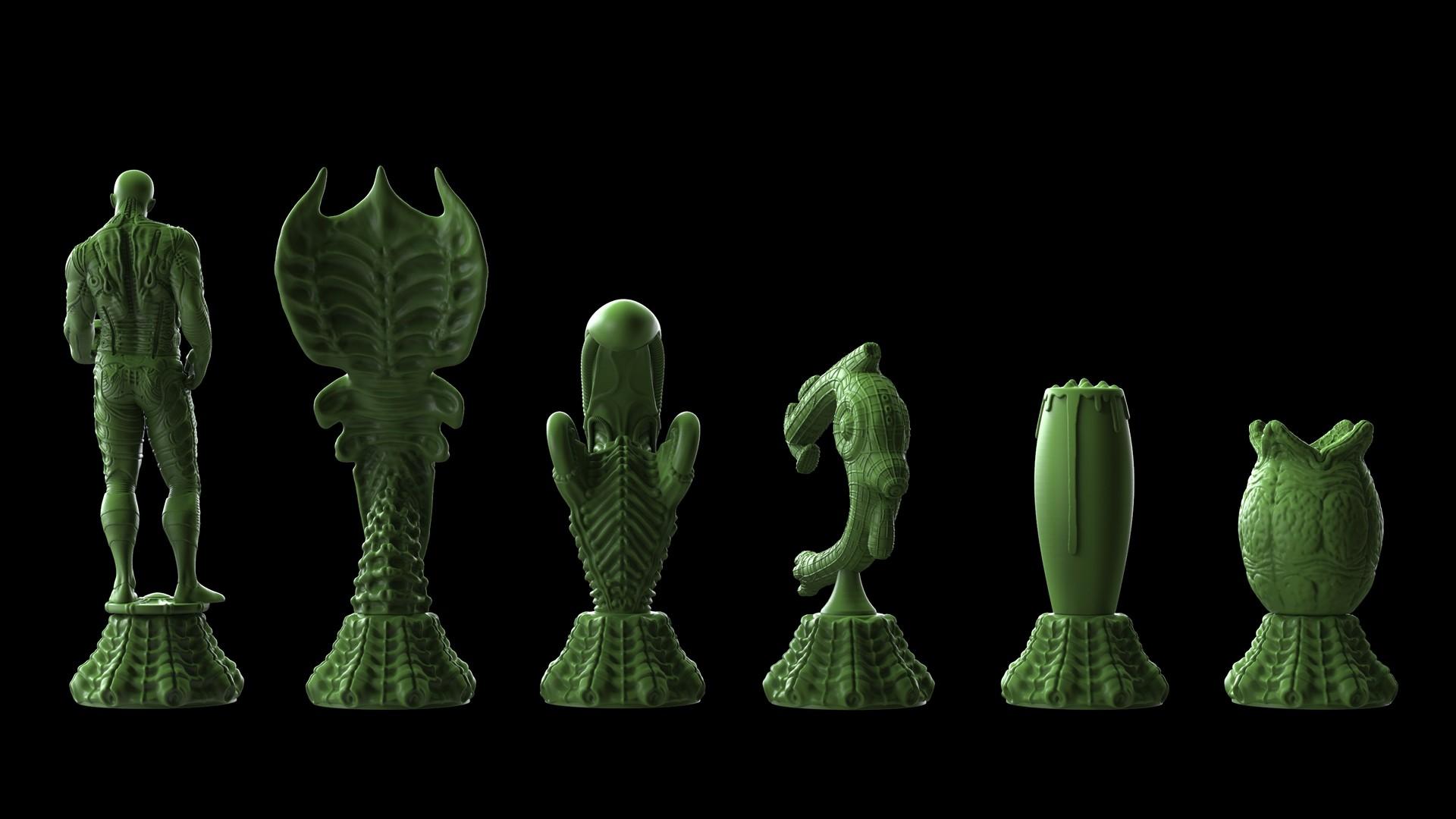 Ken calvert alien chess renders 1065