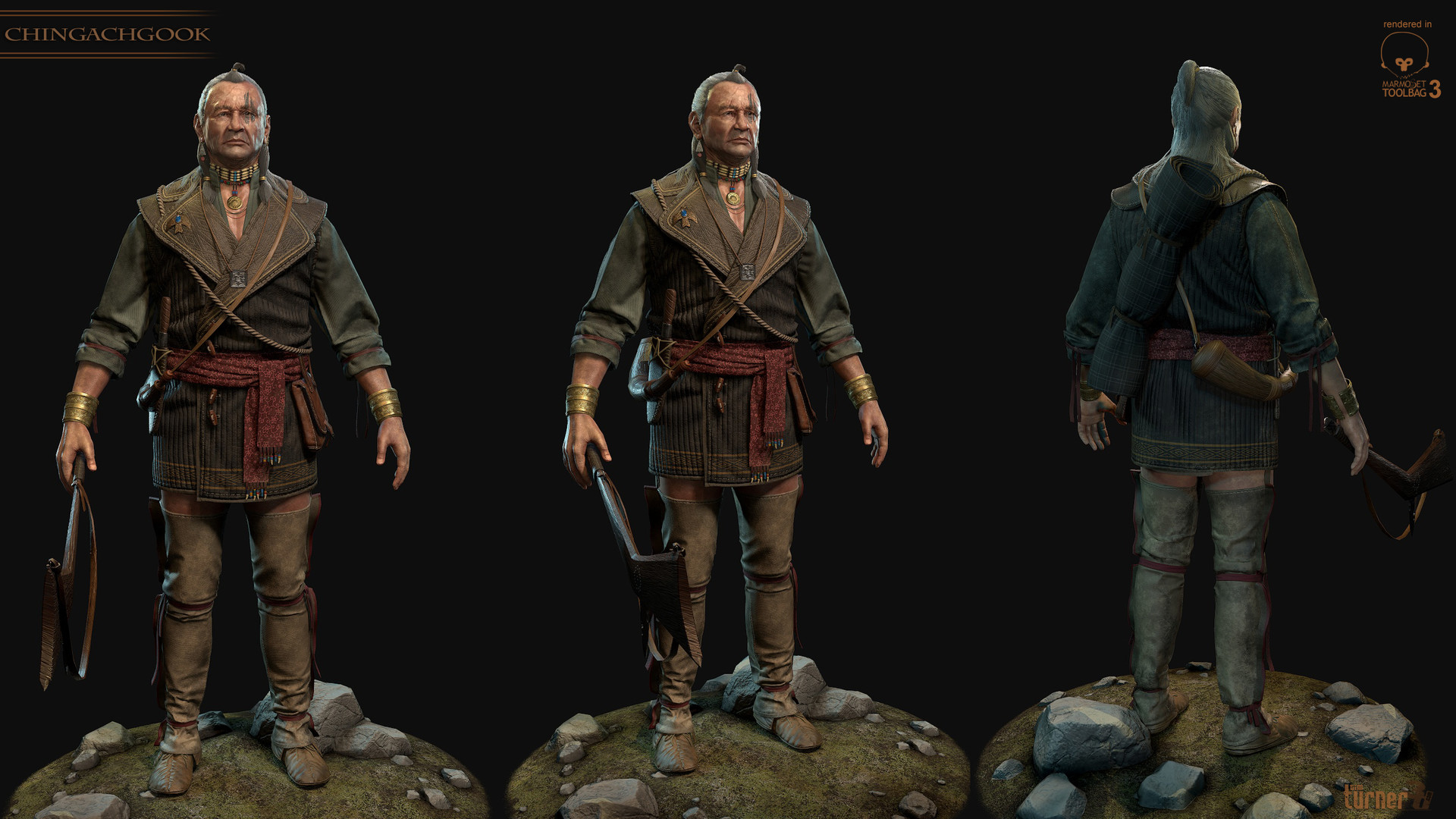 Tim turner 3d mohican 2