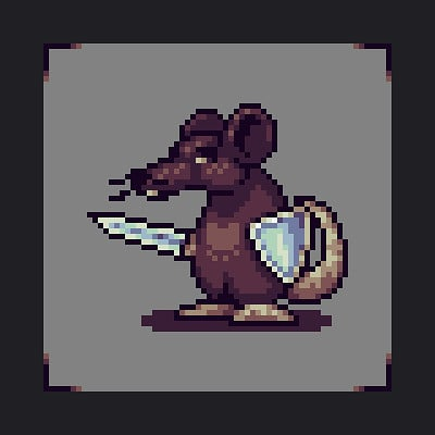 Raou mouse warrior