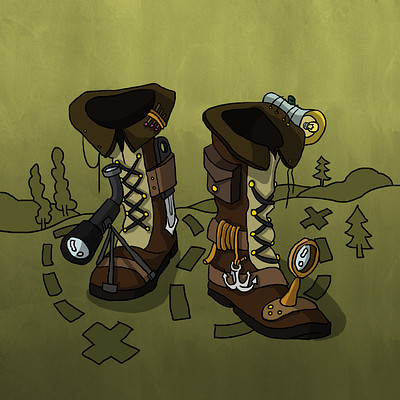 Cowboy Boots How to Draw