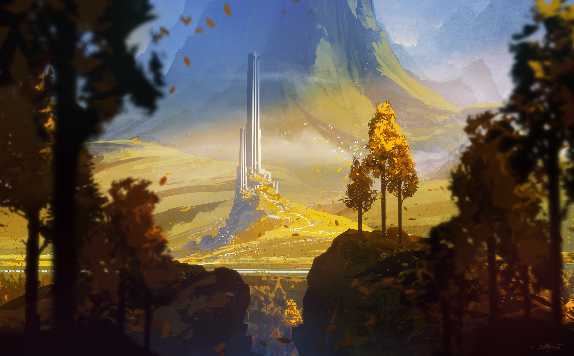 Bastien grivet from the hill