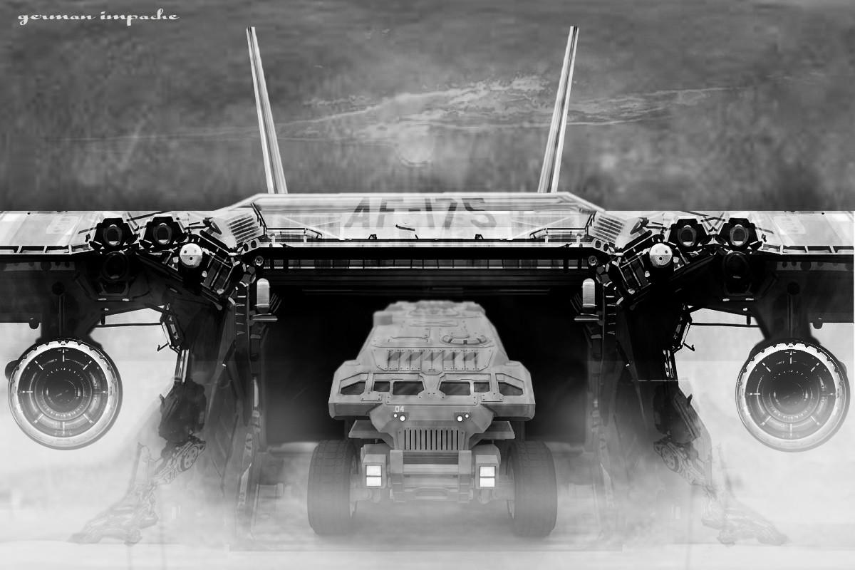 Landing Air Force X