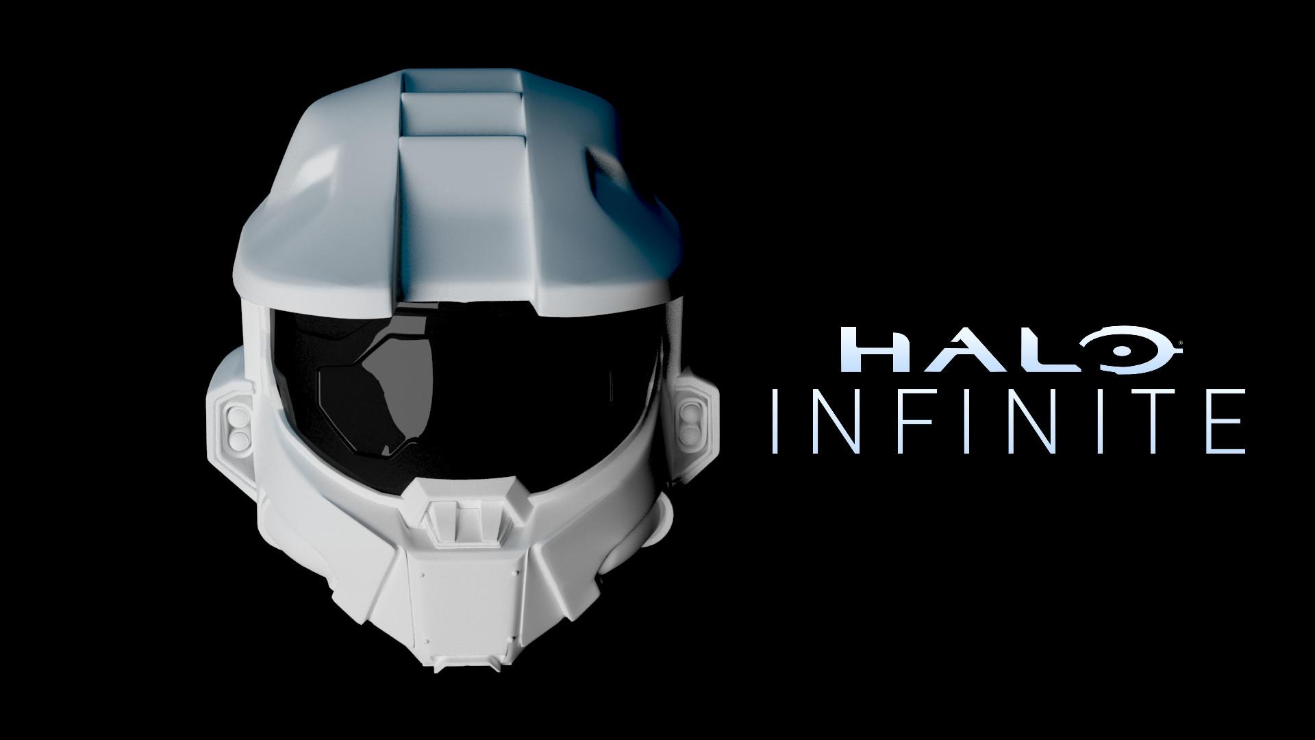 Gabriel Christopher Halo Infinity Fan Art Helmet
