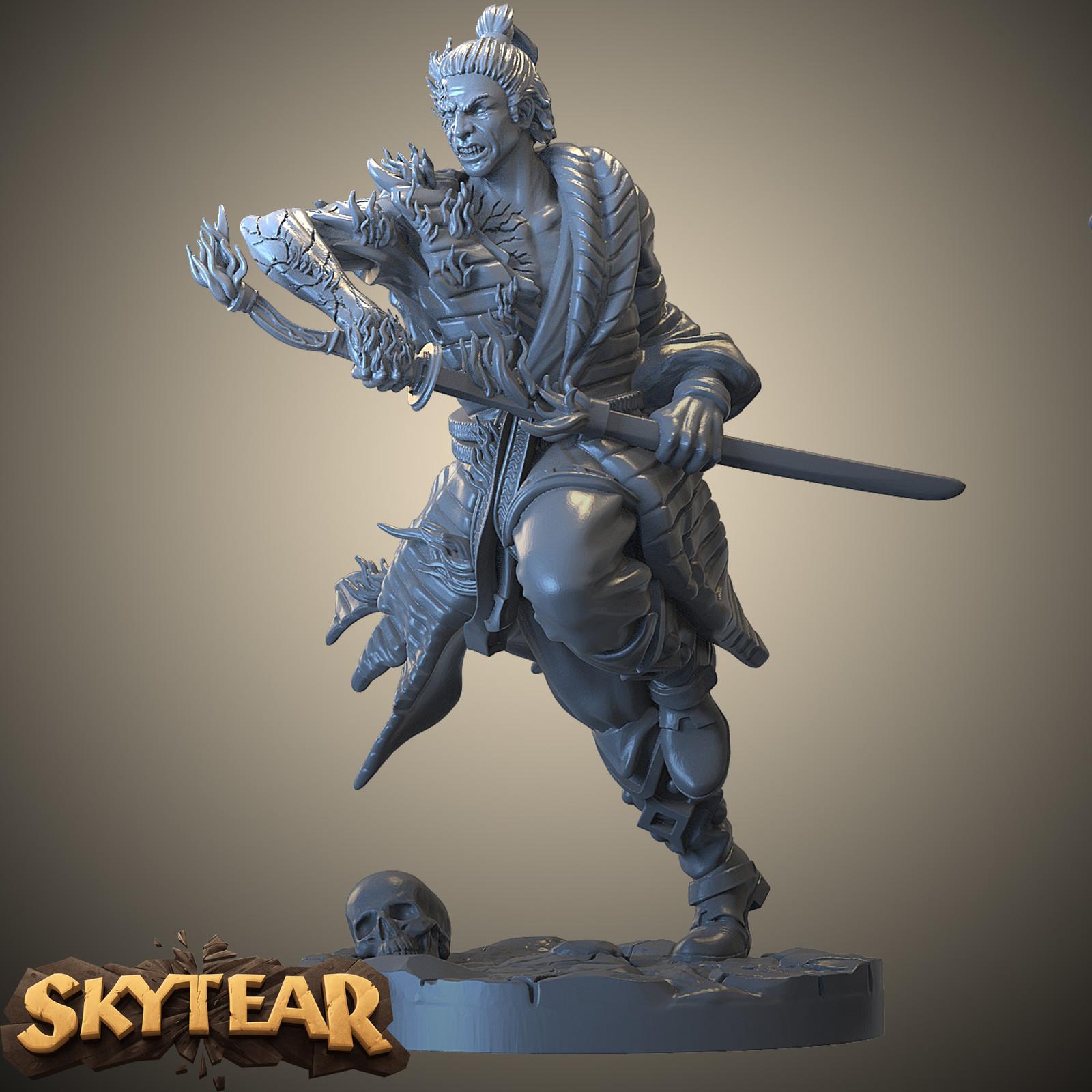 Skytear boardgame -  Akimo miniature