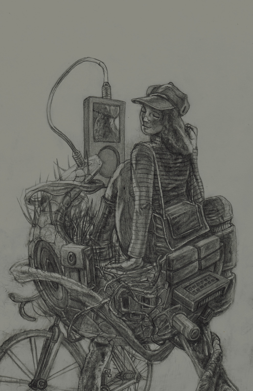 Sally Surreal #2 Sketch