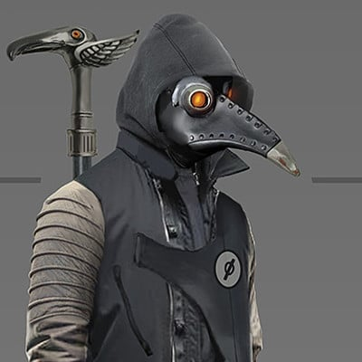 Gloria ocete plague doctor baja