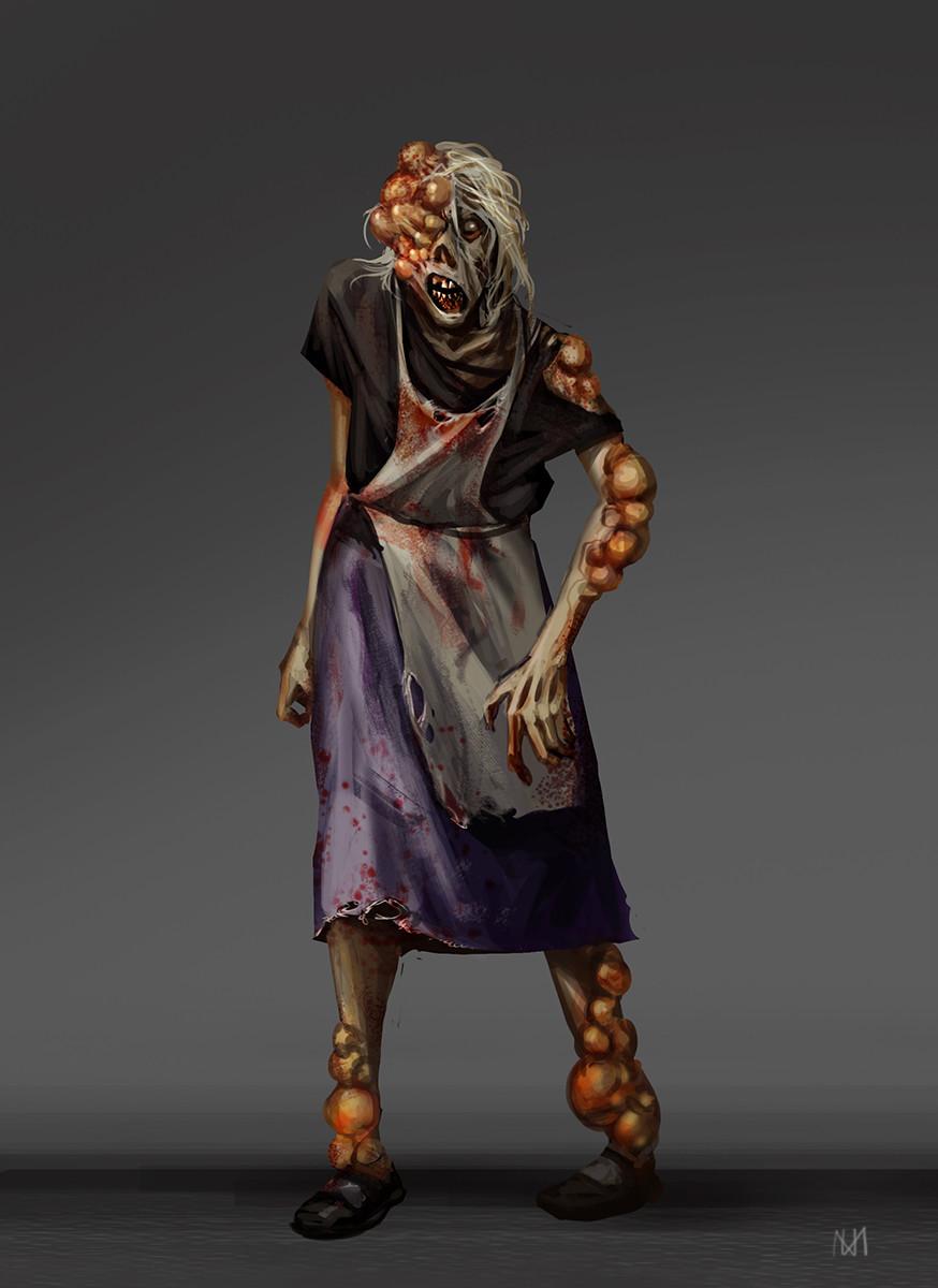 Nagy norbert old woman zombie