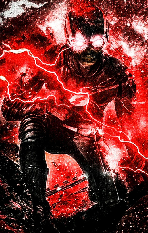 Artstation The Flash Zoom Death Variants Digitalspacegeek Ali En Cas