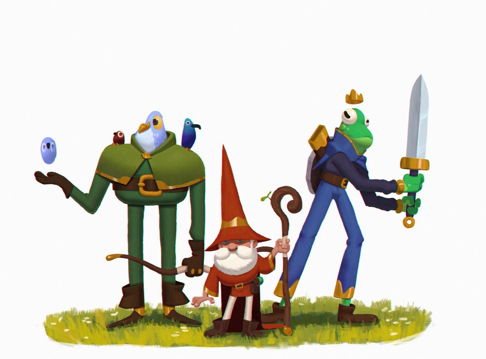 O'School RPG Characters
