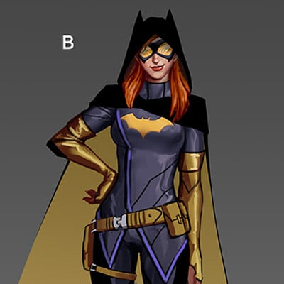 Alexandra zhao batgirlconcept22