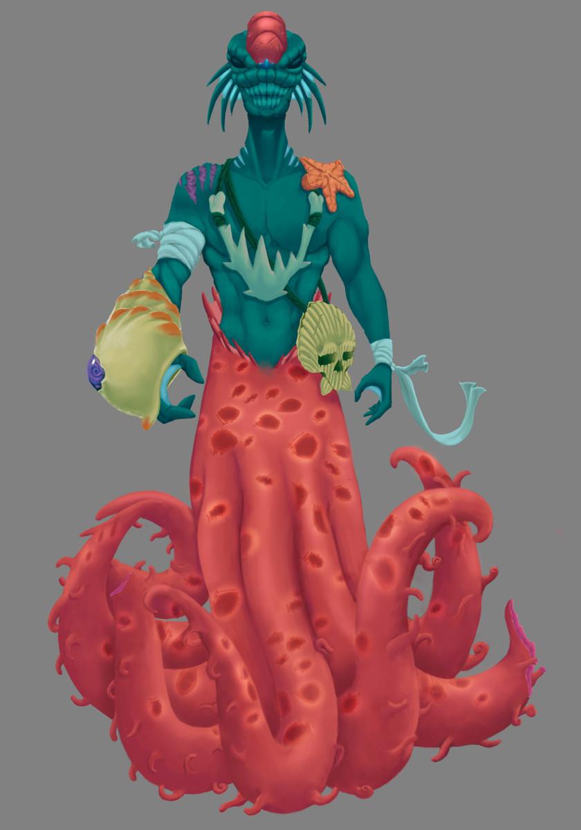 Character Design: Prehistoric Necromancer