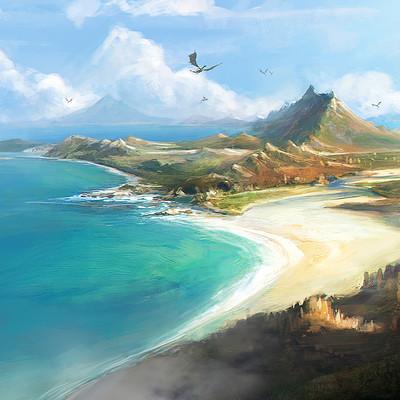 Roland sanchez dragon island